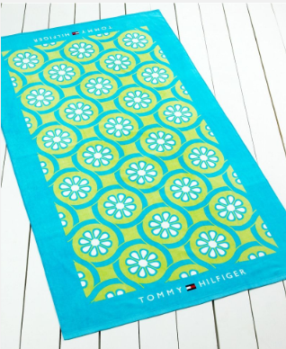 """Tommy Hilfiger """"Point"""" beach towel, $17.99 on sale at Macy's"""