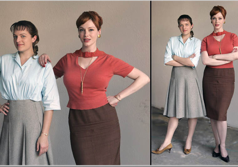 joan peggy 760?w=600&h=422 1960s fashion the women of mad men fashion in motion,Womens Clothing 1960s