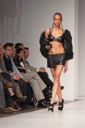 Travis Taddeo spring 2010 collection; image courtesy of Peter Lytwyniuk at StudioLit