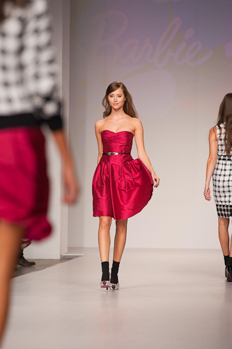 Barbie by David Dixon spring 2010 collection; image courtesy of Peter Lytwyniuk at StudioLit