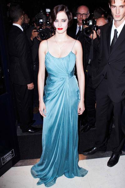 Eva Green wears Alberta Ferretti