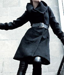 Wool coat, $299 on sale at Danier