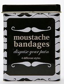 moustache bandaids_urbanoutfittersDOTcom