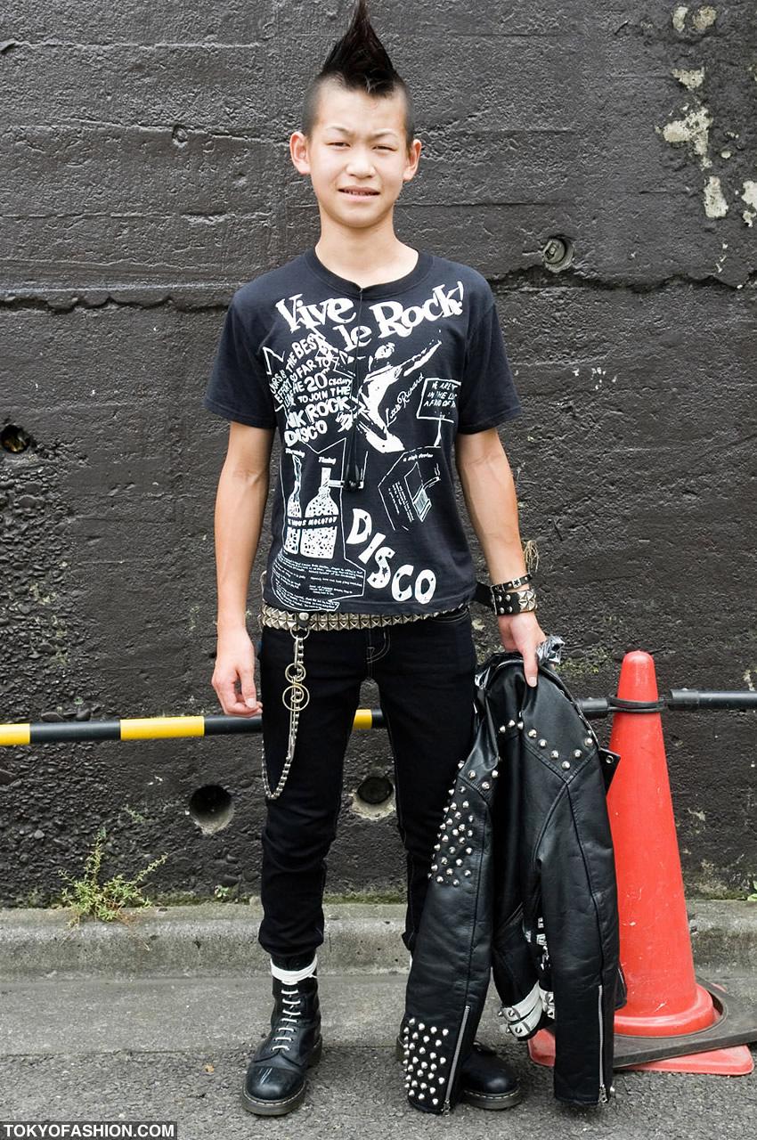 Одежда в стиле рок мальчиков