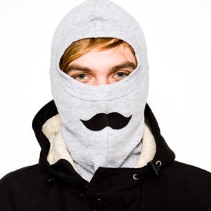 Unisex mustache mask_15GBP_americanapparelDOTcom