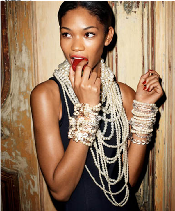 Fashion trend pearls galore fashion in motion for Words to wear jewelry