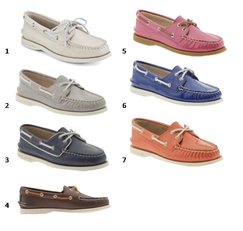Mens Denim Boat Shoes