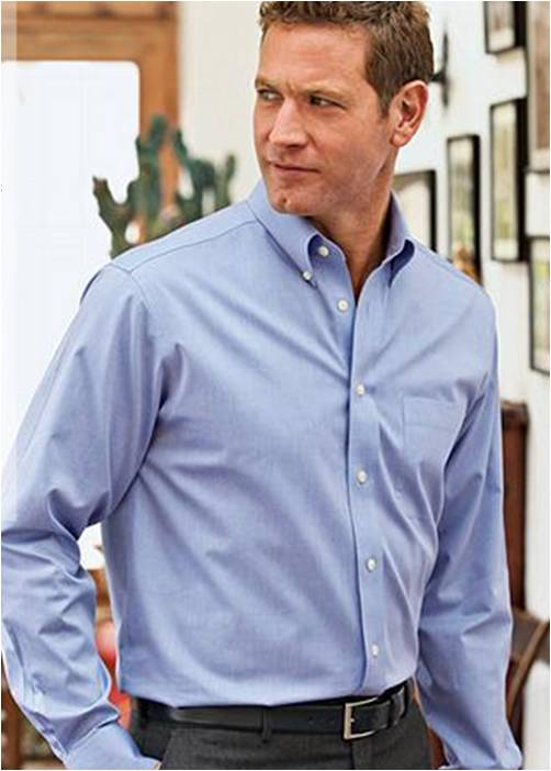 Shopping at eddie bauer fashion in motion for Wrinkle free button down shirts