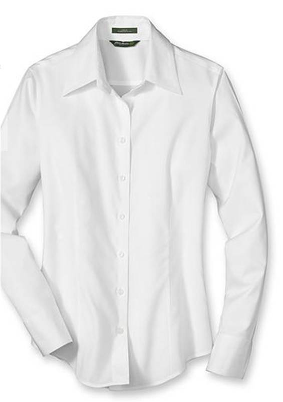 Shopping at eddie bauer fashion in motion for Best wrinkle free shirts