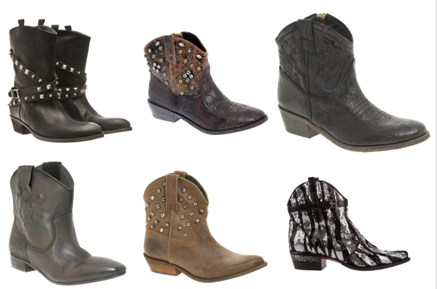 Low Cowgirl Boots