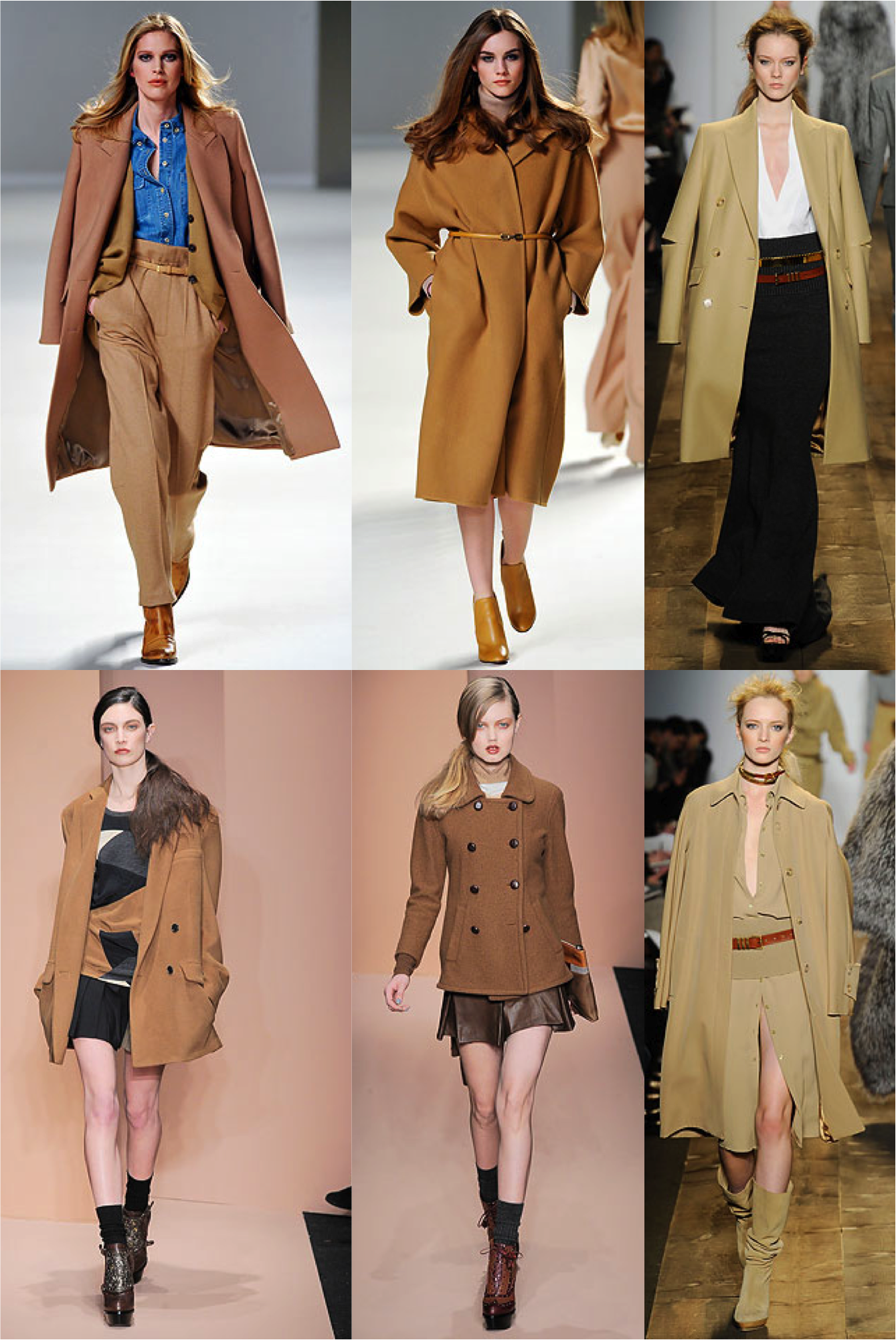 Camel trend coats recommend dress for autumn in 2019