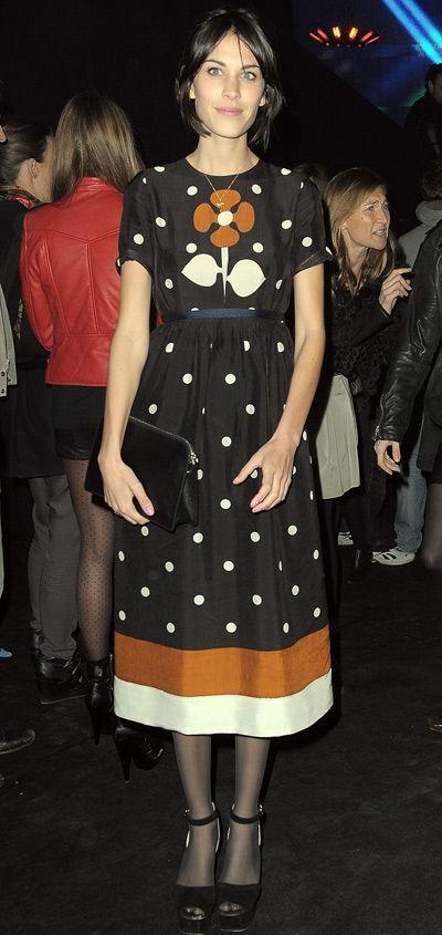 Celebrity Fashion 2011 on Fashion Faux Pas Friday  Alexa Chung    Fashion In Motion