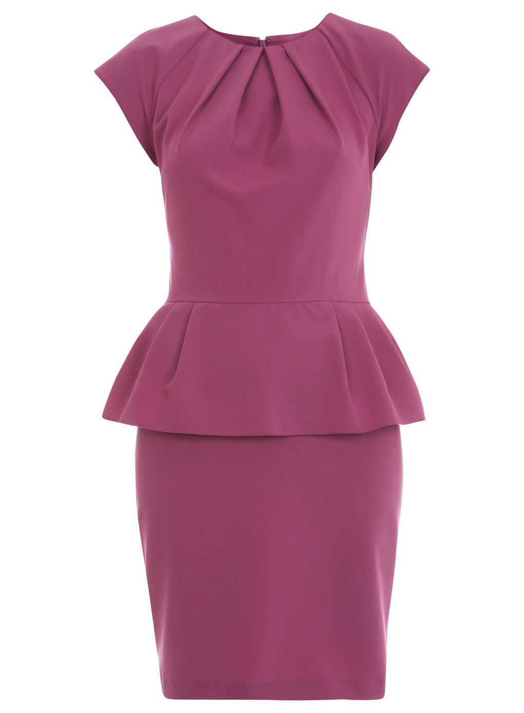 Trend the peplum dress fashion in motion Pink fashion and style pink dress