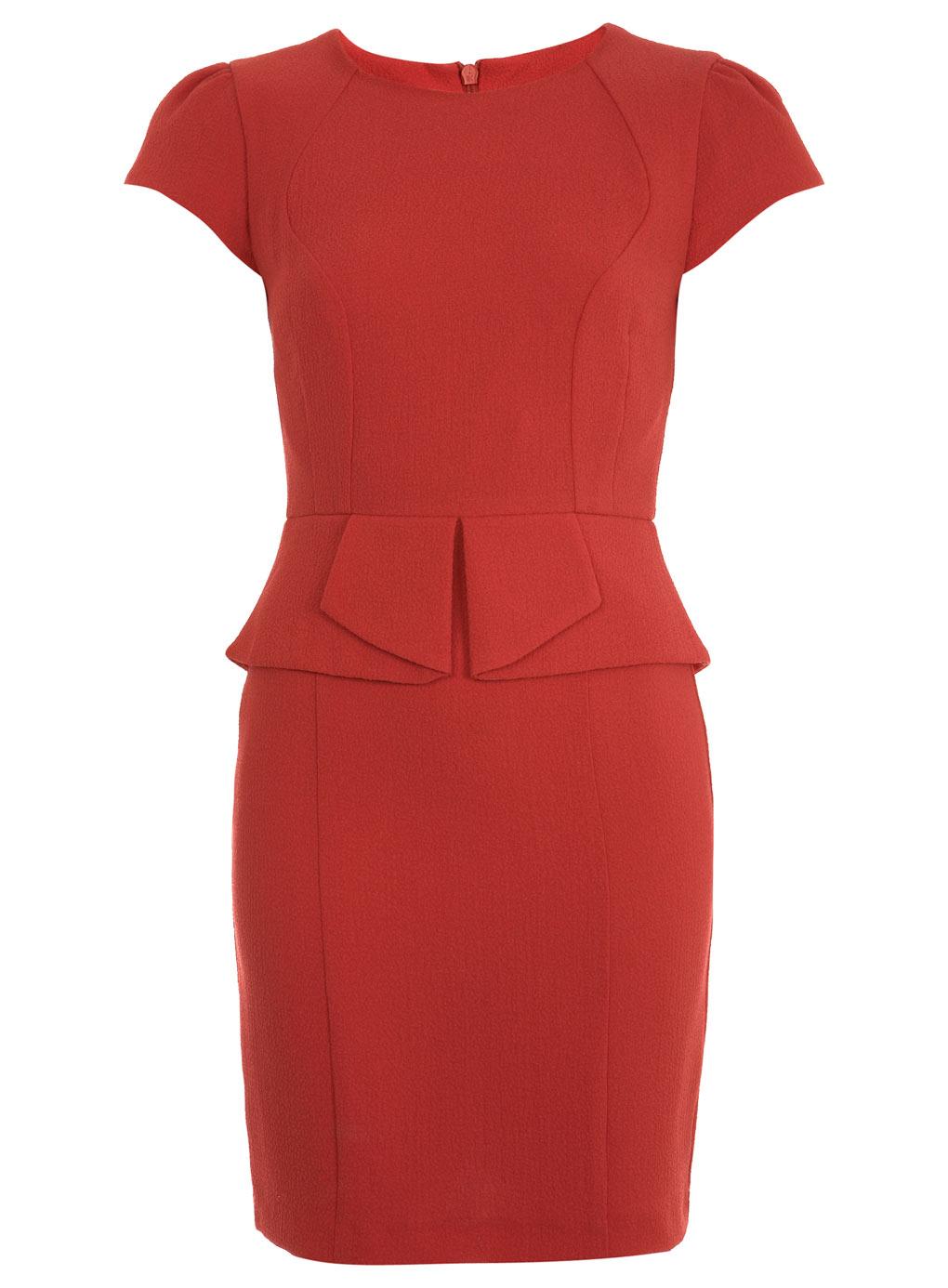 Product Features Drop shoulders, peplum skirt Full length evening dress, back zipper.