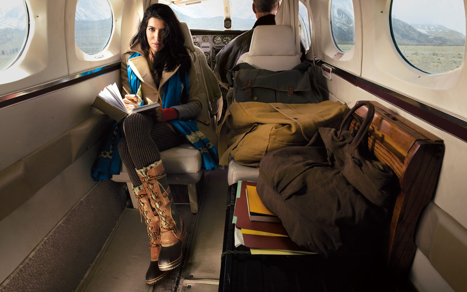 Jet Setting Social Entrepreneur Leila Janah Is SORELs Face For The Get Your Boots Dirty Campaign