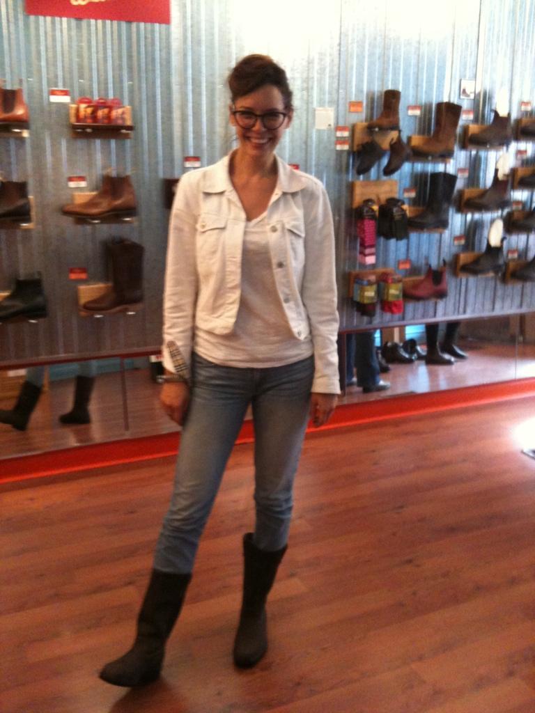 Dark brown jeans for women