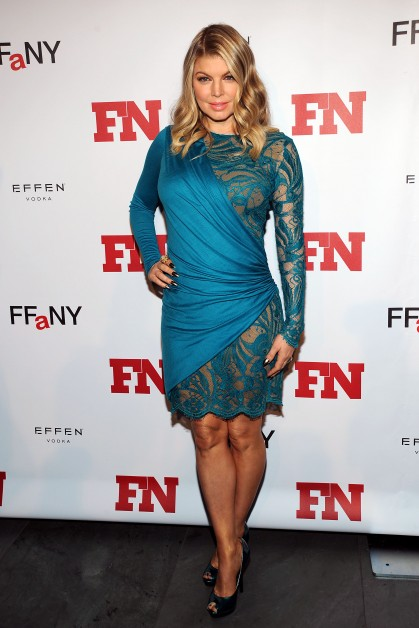 Yay or Nay: Fergie in a side wrap