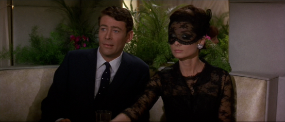 Black lace - Audrey Hepburn in How to Steal a Million