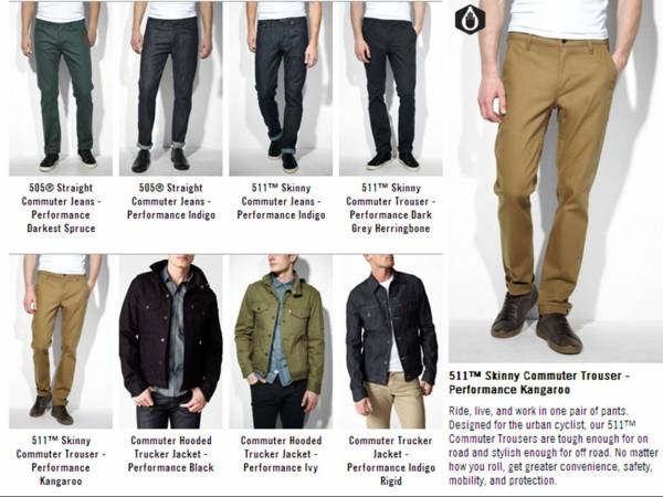 The trousers are fashionable, durable and cut to