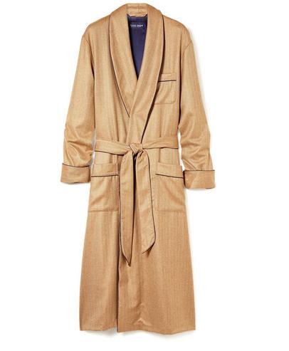 Derek Rose Cashmere Dressing Gown_$4140
