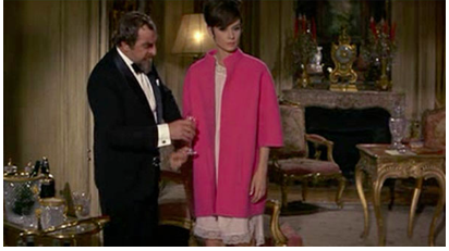 Pretty in Pink - Audrey Hepburn in How to Steal a Million