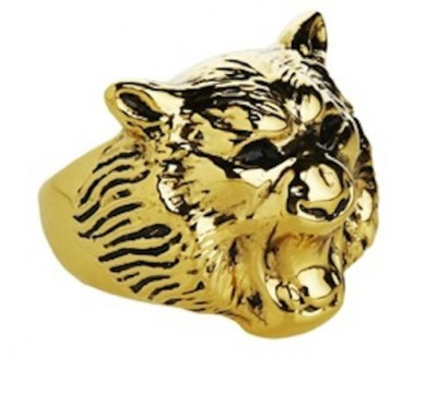 Canadian Jenny Bird's accessories are always spot-on trends and the roaring lion ring is pretty remarkable, $139 at Jenny Bird