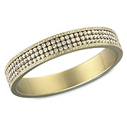 New York Golden Bangle, $210