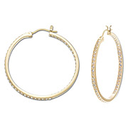 Somerset Medium Hoop Earrings, $120
