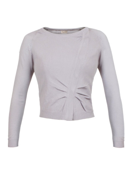asymmetrical cardigan, €280, Repetto
