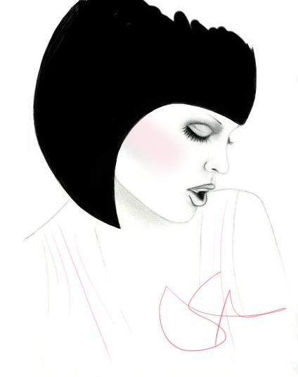 fashion illustration_Lili and Belle