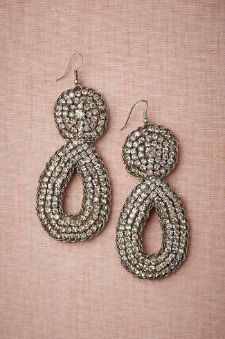 incandescence earrings, $180, BHLDN