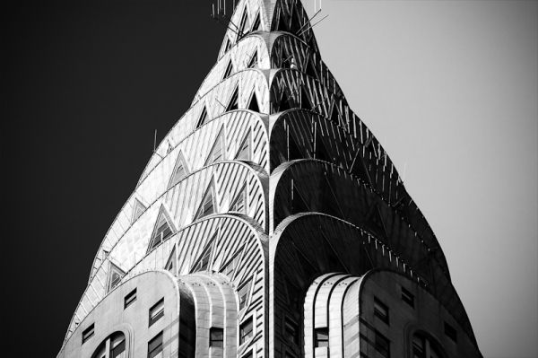 The Chrysler building, photo by James Maher