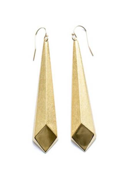 Gorgeous Excalibur earrings by Canadian designer Dean Davidson for eBay's Valentine Collective, $65 shipping included