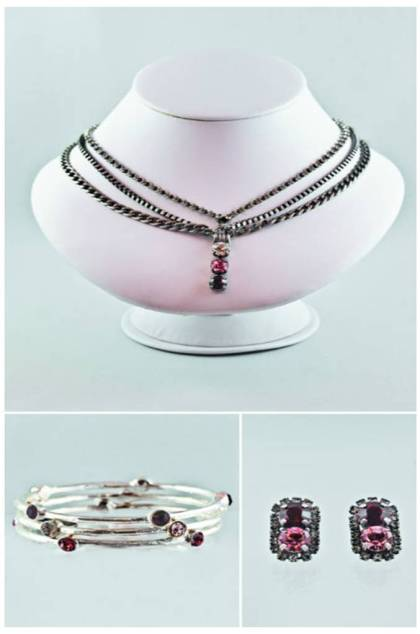 Rebekah Price's collection for eBay's Valentine Collective, clockwise from top: