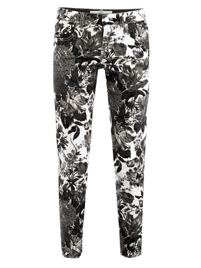 Stella McCartney Floral Skinny Jeans, $530, via Matches
