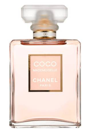 Good ole' Coco Mademoiselle. Despite my love of niche fragrance, this is the scent I get the most compliments on.  Notes are: orange, mandarin orange, orange blossom and bergamot; middle notes are mimosa, jasmine, Turkish rose and ylang-ylang; base notes are tonka bean, patchouli, opoponax, vanilla, vetiver and white musk.
