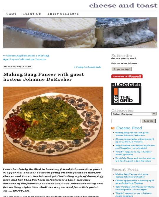 This is kind of a dream-come-true and makes me so giddy thinking that I'm blogging about food, my other love