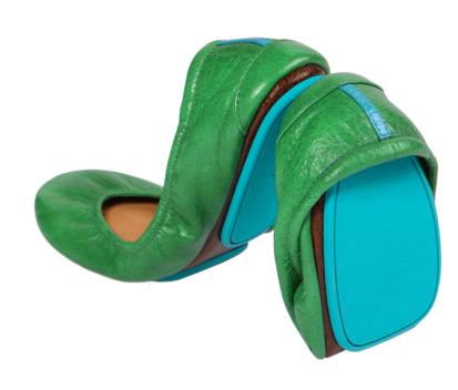 Clover Green, $165, Tieks