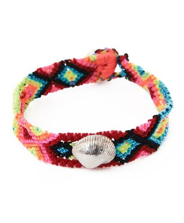 Dezso by Sara Beltran, Martha Andara Shell Bracelet, $115, L'Atitude
