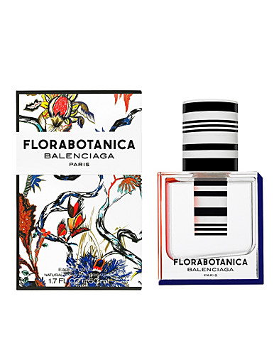 "About the stunning packaging Balenciaga says; ""Couture bottle that completes the ""Florabotanica"" experience: oversize tube with bold lines which plunges into the floral perfume like a laboratory test tube looking to capture the secret essence of flowers.""  AND HOW!"