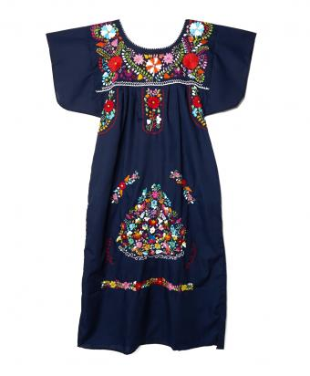 Mexican Bazaar tunic, $95, L'Atitude