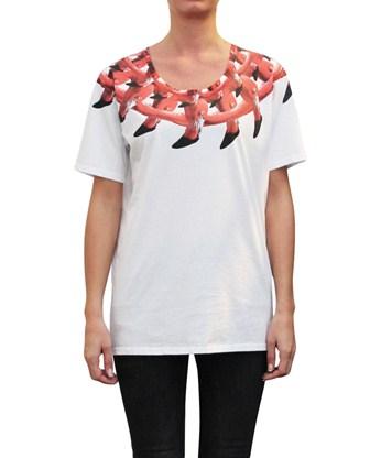 Marcelo Burlon t-shirt, $215, L'Inde le Palais