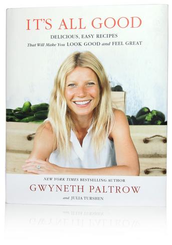 Gwyneth Paltrow's 2nd cookbook: It's All Good. Photo via Goop.