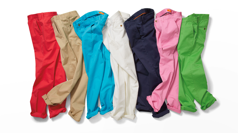 Spring Fashion for Men: Coloured Pants | Fashion in Motion