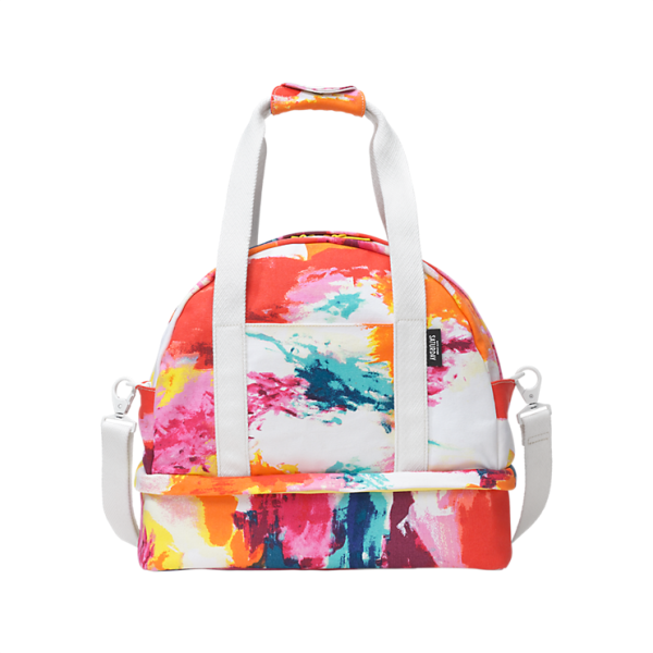 The Small Weekender Bag in Abstract, $160, KS Saturday