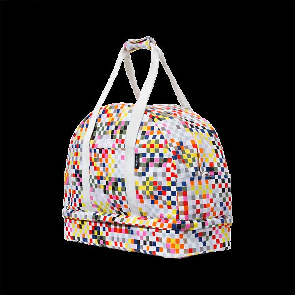 The Weekender Bag in Sampler, $160, KS Saturday
