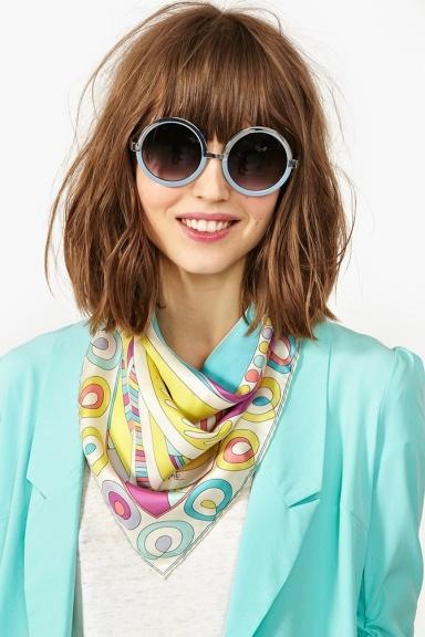 Emilio Pucci silk scarf, via Nasty Girl