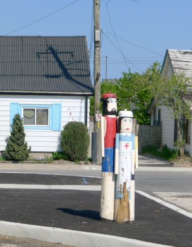 Some street characters in Port Stanley, Ontario