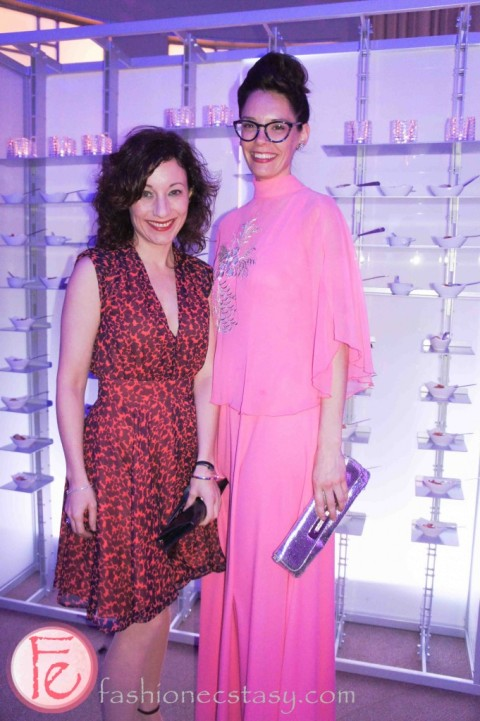 Here I am with my friend Amy at the Carlu's 10th anniversary gala last Friday in Toronto