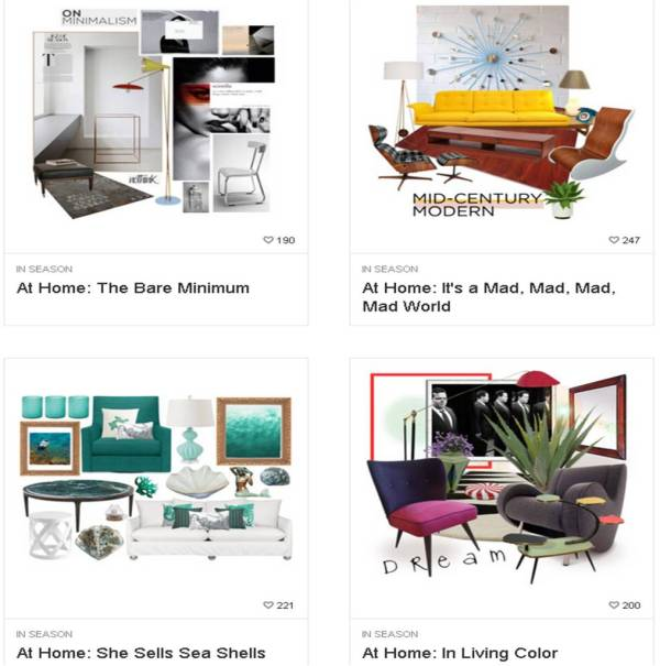 Looks like the home decor industry is going through the same choose-your-own-adventure moment